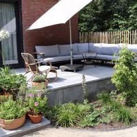 Tuinrenovatie aan de Oosterweg, Haren